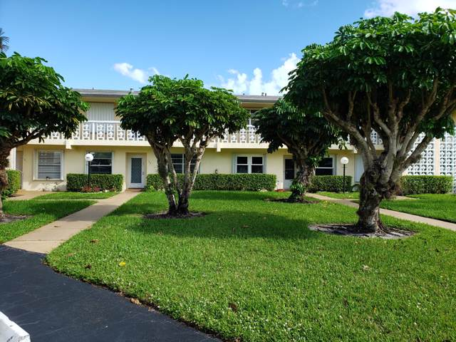 1421 NW 19th Terrace #201, Delray Beach, FL 33445 (#RX-10578242) :: The Reynolds Team/ONE Sotheby's International Realty
