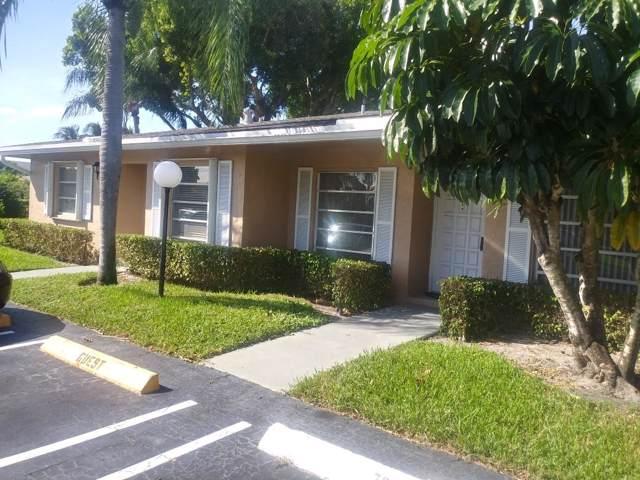 1151 Boxwood Drive 39-B, Delray Beach, FL 33445 (#RX-10578257) :: Ryan Jennings Group