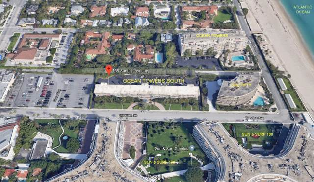 139 Sunrise Avenue #3060, Palm Beach, FL 33480 (#RX-10578335) :: Ryan Jennings Group