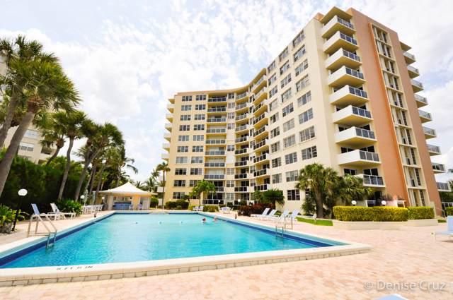2800 N Flagler Drive #713, West Palm Beach, FL 33407 (MLS #RX-10578554) :: Berkshire Hathaway HomeServices EWM Realty