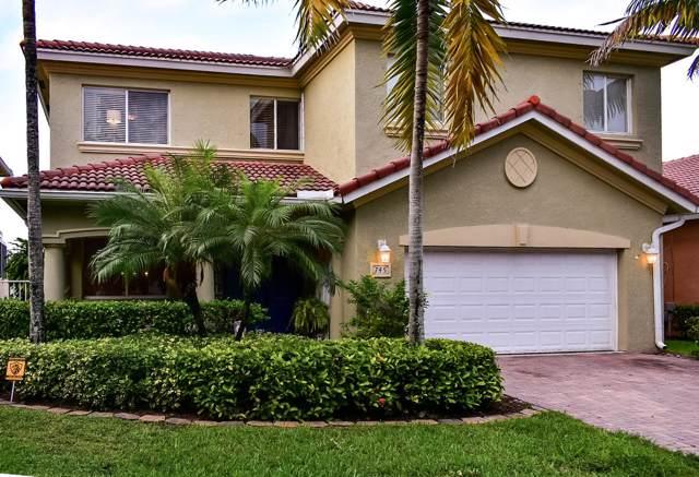 745 Gazetta Way, West Palm Beach, FL 33413 (MLS #RX-10578587) :: United Realty Group