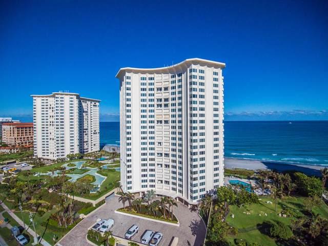 550 S Ocean Boulevard #1005, Boca Raton, FL 33432 (MLS #RX-10578650) :: Berkshire Hathaway HomeServices EWM Realty