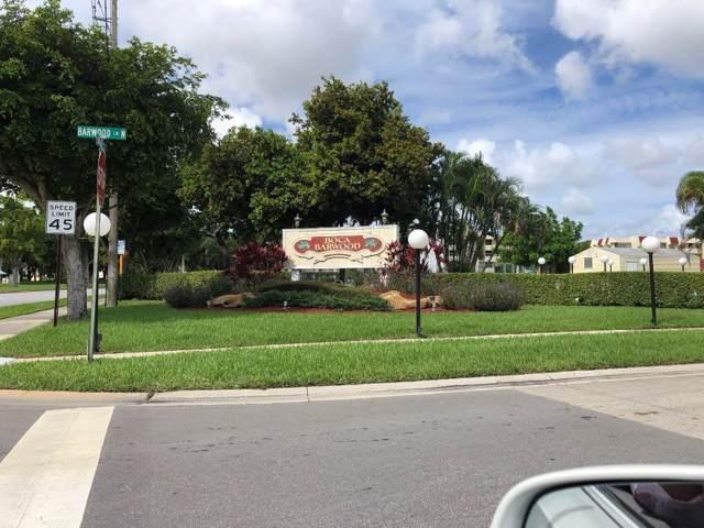 23305 Barwood Lane #101, Boca Raton, FL 33428 (MLS #RX-10578882) :: United Realty Group