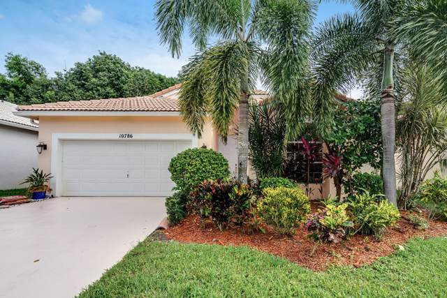 10786 Madison Drive, Boynton Beach, FL 33437 (MLS #RX-10578899) :: United Realty Group
