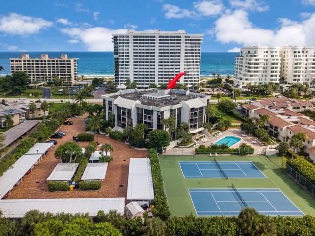 1901 S Ocean Boulevard #404, Boca Raton, FL 33432 (MLS #RX-10578905) :: Berkshire Hathaway HomeServices EWM Realty