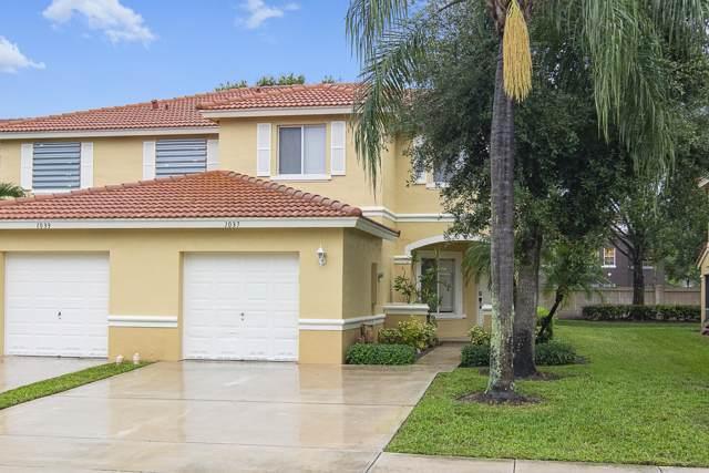 1037 Arezzo Circle, Boynton Beach, FL 33436 (MLS #RX-10578937) :: United Realty Group