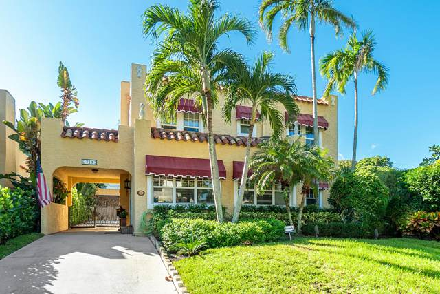 718 Biscayne Drive, West Palm Beach, FL 33401 (#RX-10579051) :: Ryan Jennings Group