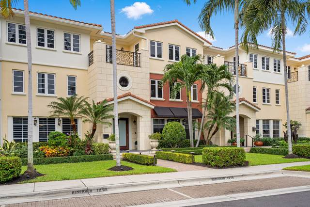 1210 Palm Trl C, Delray Beach, FL 33483 (MLS #RX-10579112) :: Berkshire Hathaway HomeServices EWM Realty