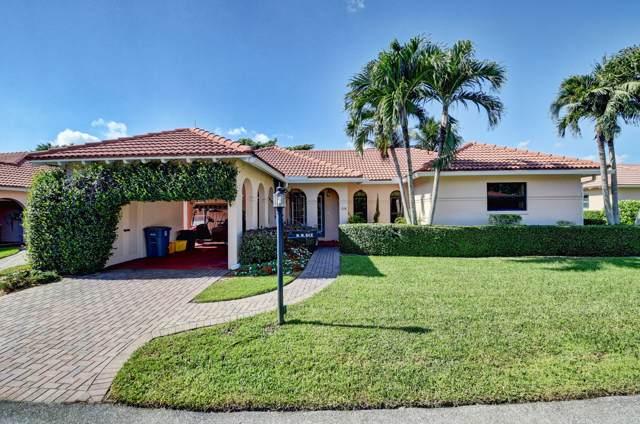 14 Fairway Drive, Boynton Beach, FL 33436 (#RX-10579437) :: Ryan Jennings Group