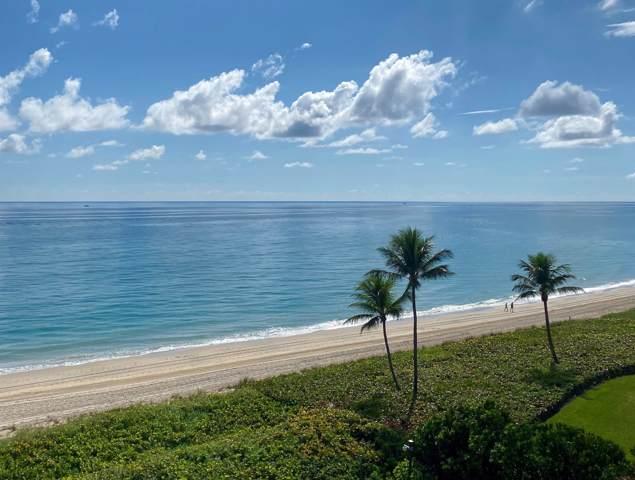 3100 S Ocean Boulevard Ph605-S, Palm Beach, FL 33480 (MLS #RX-10579543) :: Castelli Real Estate Services