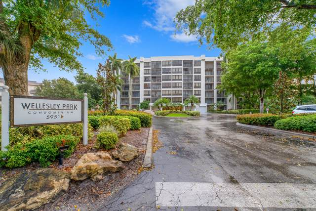 5951 Wellesley Park Drive #302, Boca Raton, FL 33433 (#RX-10579619) :: Ryan Jennings Group