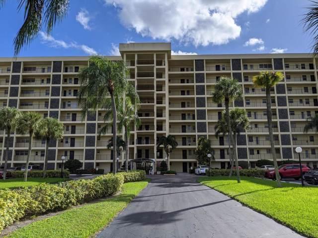 3100 N Palm Aire Drive #505, Pompano Beach, FL 33069 (#RX-10579702) :: Ryan Jennings Group