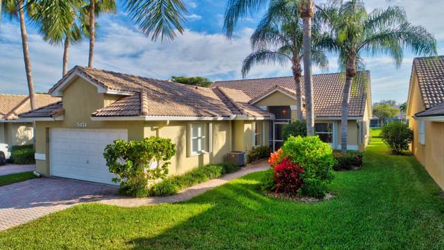 5434 Grande Palm Circle, Delray Beach, FL 33484 (MLS #RX-10579741) :: Laurie Finkelstein Reader Team
