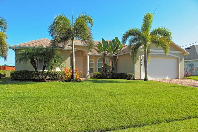 831 SW Hamberland Avenue, Port Saint Lucie, FL 34953 (#RX-10579749) :: The Reynolds Team/ONE Sotheby's International Realty