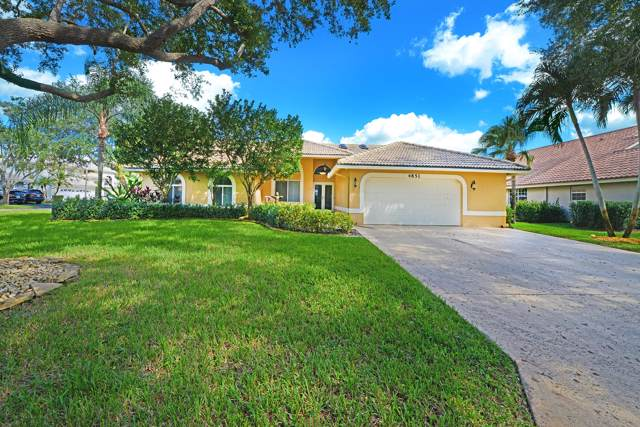 4851 NW 104th Lane Lane, Coral Springs, FL 33076 (#RX-10579830) :: The Reynolds Team/ONE Sotheby's International Realty