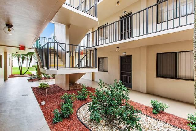 5370 Las Verdes Circle #114, Delray Beach, FL 33484 (#RX-10579874) :: Real Estate Authority