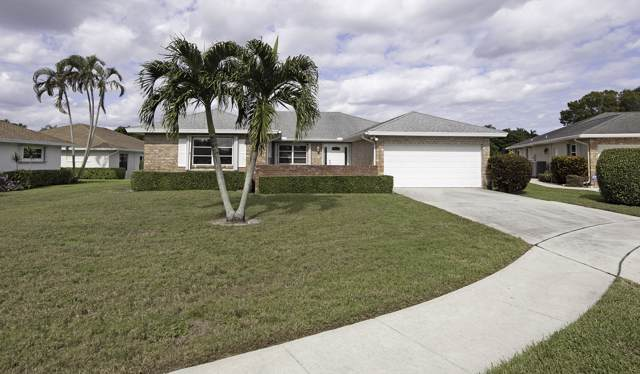 10885 Ventura Circle, Boynton Beach, FL 33436 (#RX-10580061) :: Ryan Jennings Group