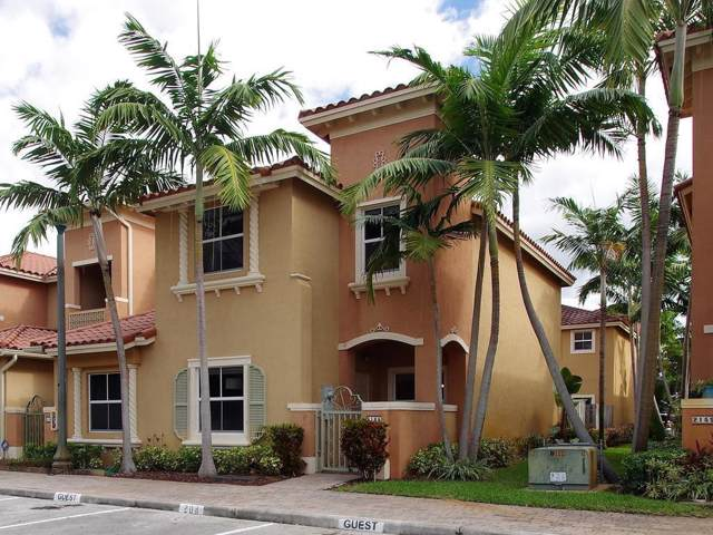 2165 Siena Terrace, Hollywood, FL 33021 (MLS #RX-10580288) :: Castelli Real Estate Services