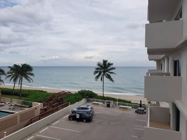 3215 S Ocean Boulevard #308, Highland Beach, FL 33487 (#RX-10580652) :: Ryan Jennings Group