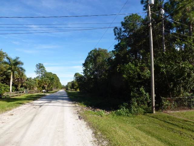 0 75th Place N, Loxahatchee, FL 33470 (MLS #RX-10580824) :: Berkshire Hathaway HomeServices EWM Realty