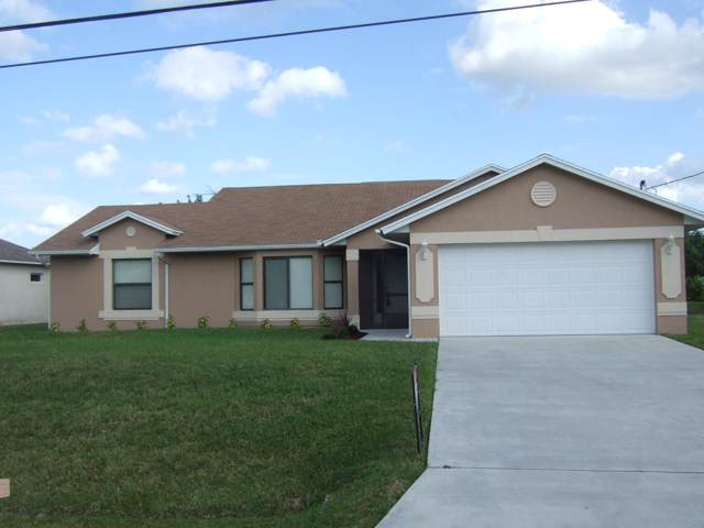 6711 NW Dorothy Street, Port Saint Lucie, FL 34983 (MLS #RX-10580885) :: Berkshire Hathaway HomeServices EWM Realty