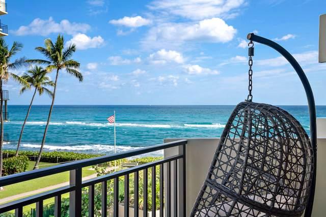 5460 N Ocean Drive S 3-D, Singer Island, FL 33404 (#RX-10581077) :: Ryan Jennings Group