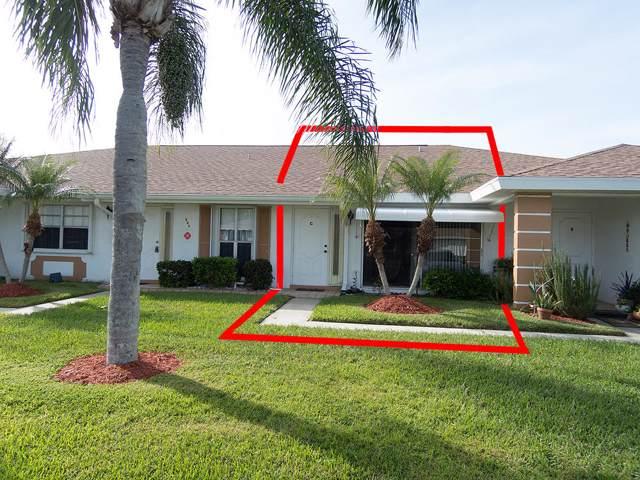 521 Crooked Lake Lane Apt C, Fort Pierce, FL 34982 (#RX-10581434) :: Ryan Jennings Group