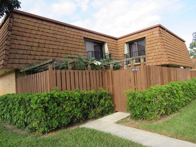 2413 24th Lane, Greenacres, FL 33463 (#RX-10581501) :: Real Estate Authority