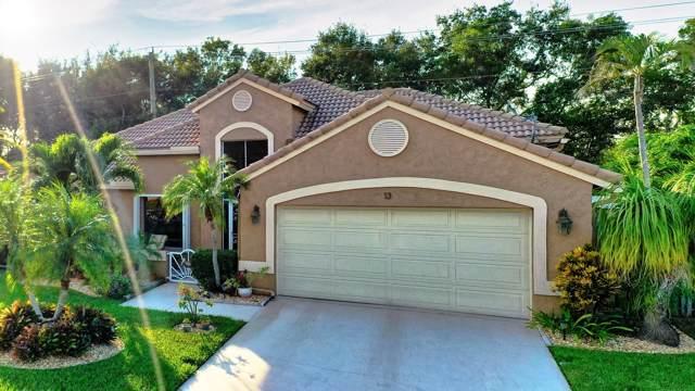 13 Dogwood Circle, Boynton Beach, FL 33436 (MLS #RX-10581551) :: Berkshire Hathaway HomeServices EWM Realty
