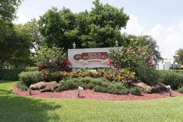 23279 Barwood Lane N #406, Boca Raton, FL 33428 (MLS #RX-10581800) :: The Paiz Group