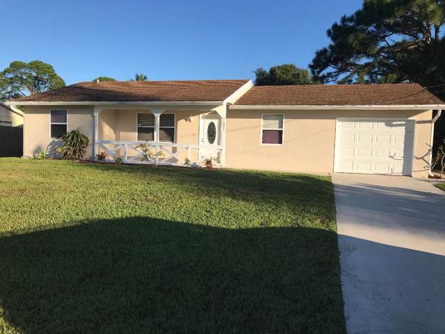 629 NW Marion Av Avenue, Port Saint Lucie, FL 34953 (MLS #RX-10582225) :: Berkshire Hathaway HomeServices EWM Realty