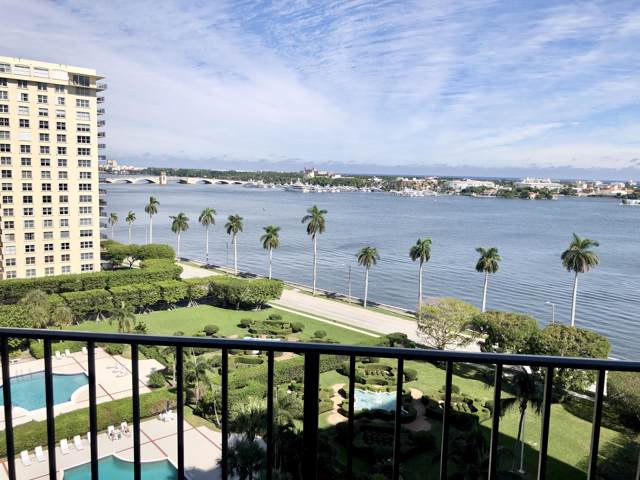 1801 S Flagler Drive #1107, West Palm Beach, FL 33401 (#RX-10582243) :: Ryan Jennings Group