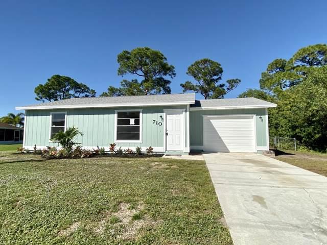 710 NW Bayshore Boulevard, Port Saint Lucie, FL 34983 (#RX-10582437) :: The Reynolds Team/ONE Sotheby's International Realty