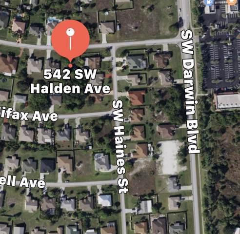 542 SW Halden Av Avenue, Port Saint Lucie, FL 34953 (#RX-10582498) :: Ryan Jennings Group