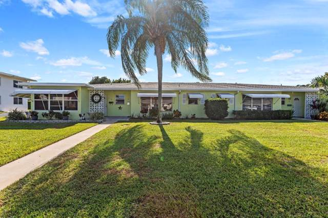 130 South Boulevard B, Boynton Beach, FL 33435 (#RX-10582510) :: Ryan Jennings Group