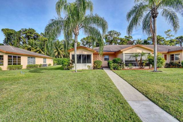 14548 Canalview Drive A, Delray Beach, FL 33484 (#RX-10582535) :: Ryan Jennings Group