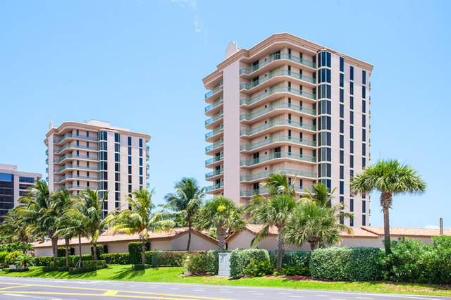 4310 N Highway A1a #302, Hutchinson Island, FL 34949 (MLS #RX-10582669) :: Berkshire Hathaway HomeServices EWM Realty