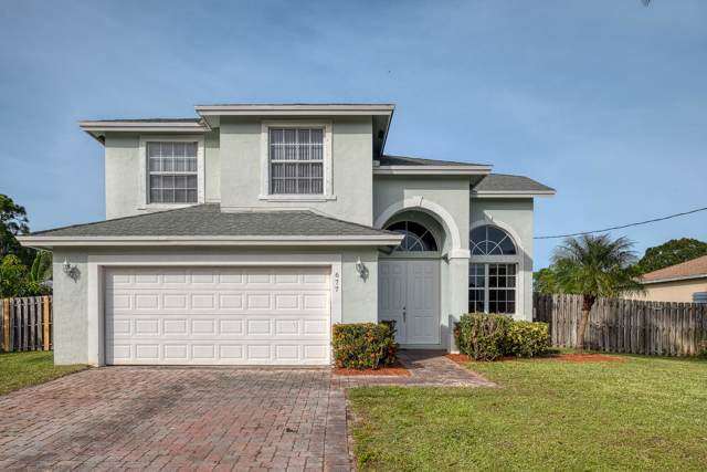 677 NW Marion Avenue, Port Saint Lucie, FL 34983 (MLS #RX-10582687) :: Berkshire Hathaway HomeServices EWM Realty
