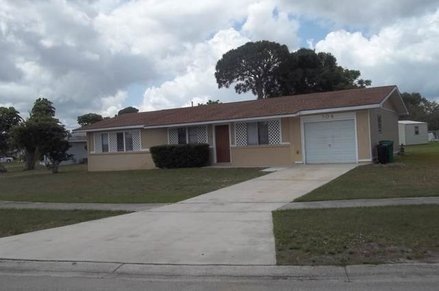 704 SW Goodrich Street, Port Saint Lucie, FL 34983 (#RX-10582703) :: Ryan Jennings Group