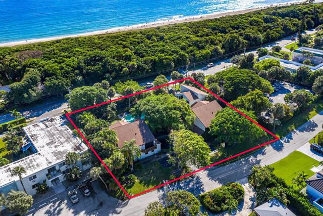 74 River Drive, Ocean Ridge, FL 33435 (#RX-10582802) :: Ryan Jennings Group
