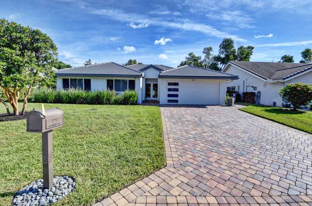 929 Greensward Lane, Delray Beach, FL 33445 (#RX-10582939) :: Ryan Jennings Group