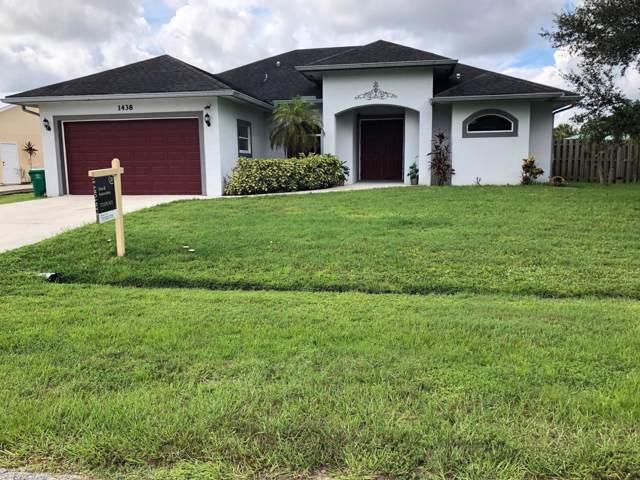 1438 SW Gilroy Road, Port Saint Lucie, FL 34953 (#RX-10583167) :: Ryan Jennings Group
