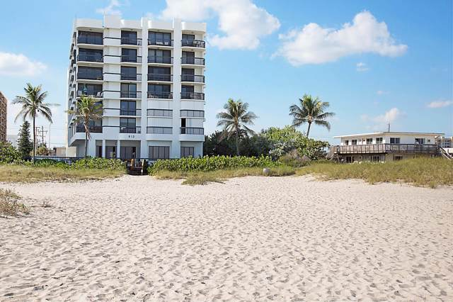 812 N Ocean Boulevard #203, Pompano Beach, FL 33062 (#RX-10583437) :: Ryan Jennings Group
