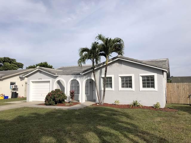 22750 SW 55th Avenue, Boca Raton, FL 33433 (MLS #RX-10583719) :: Castelli Real Estate Services