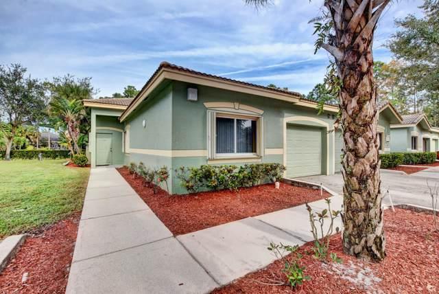 230 Crestwood Circle #101, Royal Palm Beach, FL 33411 (MLS #RX-10583888) :: The Jack Coden Group