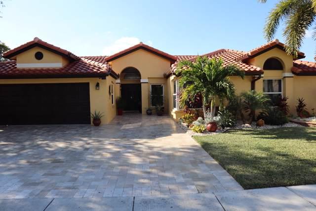 10760 Fox Glen Drive, Boca Raton, FL 33428 (MLS #RX-10583909) :: The Jack Coden Group