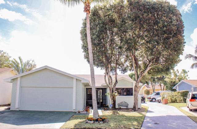 3 Cambridge Place, Boynton Beach, FL 33426 (MLS #RX-10583918) :: Berkshire Hathaway HomeServices EWM Realty