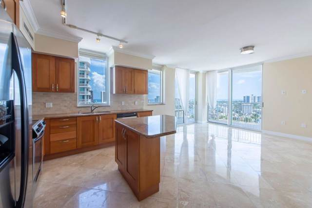 1745 E Hallandale Beach Boulevard 2206 W, Hallandale, FL 33009 (MLS #RX-10584150) :: Berkshire Hathaway HomeServices EWM Realty
