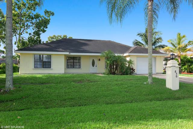 830 SE Carnival Avenue, Port Saint Lucie, FL 34983 (MLS #RX-10584269) :: Berkshire Hathaway HomeServices EWM Realty