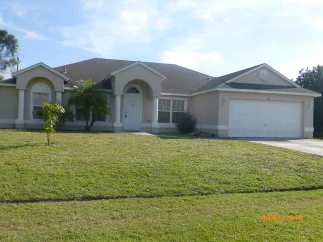 1371 SE Ladner Street, Port Saint Lucie, FL 34983 (MLS #RX-10584403) :: Castelli Real Estate Services
